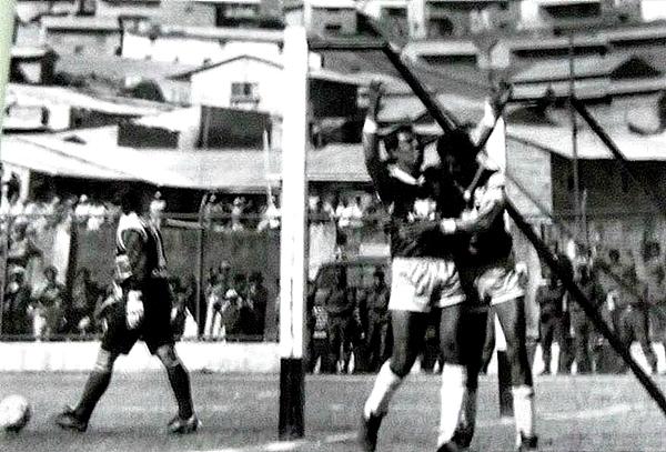 Pablo Camargo celebra su tanto en la goleada de Unión Minas sobre Alianza (Foto: Facebook)