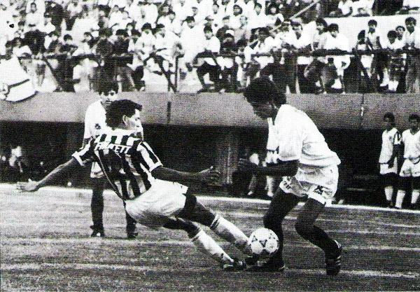 Ciclista no habrá sido favorito ante la 'U', pero igual goleó al equipo crema en el Torneo Apertura de 1994 (Recorte: revista Estadio)