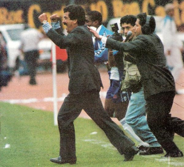 Jorge Luis Pinto, el DT  colombiano que implementó una disciplina a prueba de balas en Matute (Recorte: revista Once)