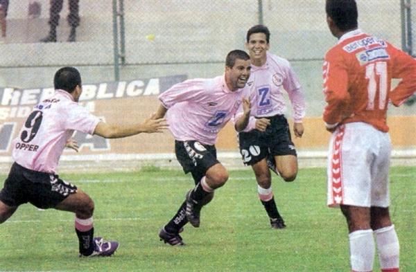 1998 fue un año de alegrías pero con final triste para Boys al no poder consolidar su gran temporada (Recorte: diario Líbero)