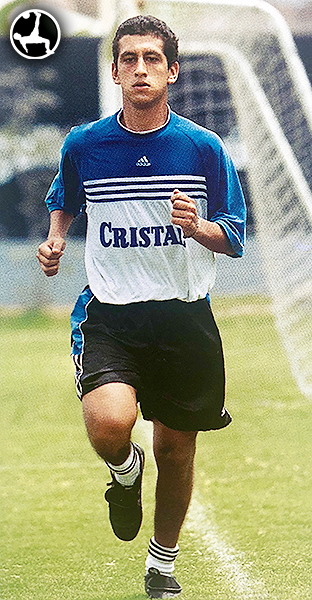 Renzo Sheput entrena con Sporting Cristal. El 'Pincel' estuvo ligado desde 1999. (Foto: revista Don Balón Perú)