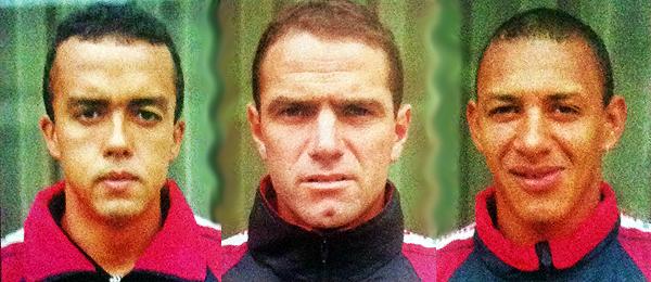 Cruvinel, Tempone y López compartieron titularato en dos partidos con Melgar durante el Apertura 1999. (Composición fotográfica: Aldo Ramírez / DeChalaca.com)
