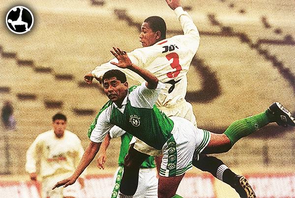 John Galliquio imponía su fuerza desde su debut profesional en la Segunda División 1999. (Foto: revista Don Balón Perú)
