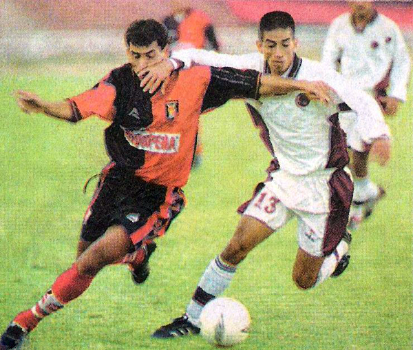 Melgar erupcionó sobre Sport Coopsol en 2001 anotándole cinco goles (Recorte: diario Líbero)