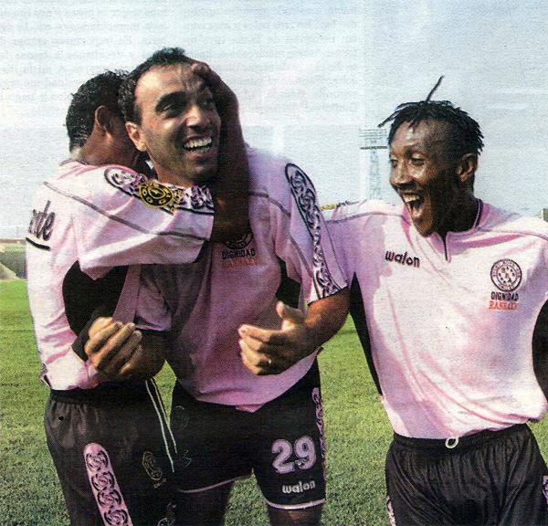 Todo empezó bien para Adippe que en la fecha 2 del Torneo Apertura anotó el primer gol de los rosados en su victoria por 2-0 contra Deportivo Wanka (Recorte: diario Líbero)