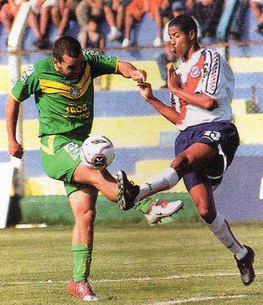 El esfuerzo de Antonio Meza Cuadra de poco sirvió para evitar la goleada de Gálvez que con Alexander Sánchez superó por 3-0 al Áncash en 2006 (Recorte: diario Líbero)