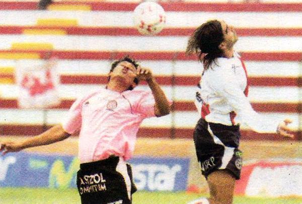 Municipal fue local en el Callao en la última fecha del Apertura 2007, aunque en su choque con Boys no pasó del 1-1 (Recorte: diario Líbero)