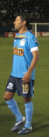 Palacios fue el héroe de la noche celeste (Foto: Martín Velásquez / DeChalaca.com)
