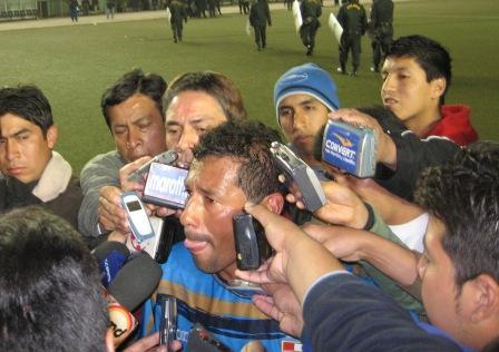 ¿Volverá Palacios a brillar para captar la atención de todos los medios? (Foto: Martín Velásquez / DeChalaca.com)
