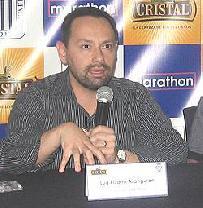 Un dirigente serio como Luis Pizarro representó a Alianza cuando el club protestó ante la FPF por la amnistía a Sport Áncash, pero ello no tuvo mayor impacto en la decisión final (Foto: rpp.com.pe)