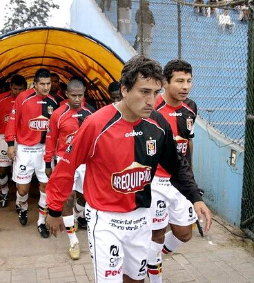 En 2007 tuvo un buen paso por Melgar, donde jugó hasta el 2010. (Foto: prensa FBC Melgar)