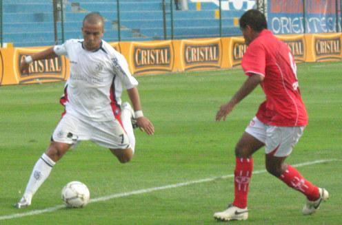 El brasileño Ricardinho debutó en la San Martín y no lució mucho (Foto: Gian Saldarriaga / DeChalaca.com)