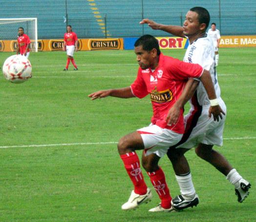 José Moisela, jugando más adelantado que en otras temporadas, fue clave al anotar el gol de empate para el 'Ciclón' (Foto: Gian Saldarriaga / DeChalaca.com)