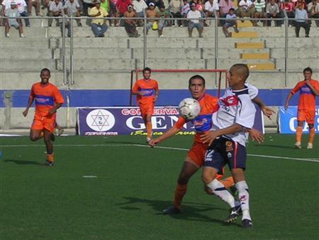 El juvenil Yotum cumplió una buena actuación en su primer partido como titular, coronada con un tanto (Foto: Diario de Chimbote)