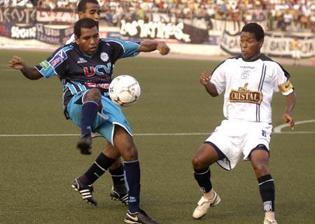 El 'Pompo' Cordero anotó un golazo desde el córner (Foto: diario La Industria de Trujillo)