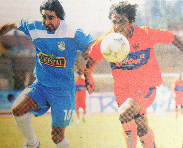 Ximénez no puede superar la marca del cuadro casapalquino, que en aquel 2008 fungió de local en Huancayo (Recorte: diario Líbero)