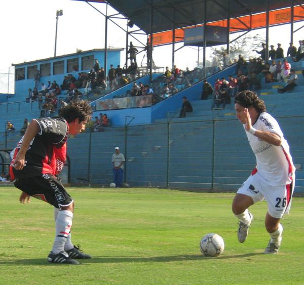 Ovelar entró en el complemento y fue figura al anotar un tanto (Foto: Gian Saldarriaga / DeChalaca.com)