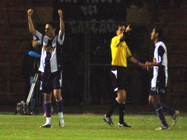 El único recuerdo feliz que dejó el desaparecido Derlis Florentín en Alianza es su gol ante Bolognesi por la fecha 15 del Clausura 2008. (Foto: Radio Uno de Tacna)