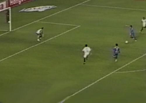 Sin marca alguna, Soria liquidó el partido (Captura: CMD)