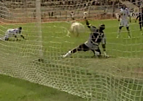 Huamán infló las redes en un desborde por derecha (Captura: CMD)