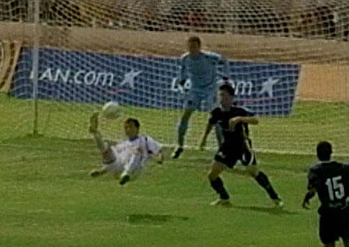 La chalaca que pudo ser: Ascoy habría marcado el gol del año (Captura: CMD)
