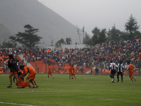 CLAUSURA - FECHA 26. El gol de Nick Montalva para la ajustada victoria ante Alianza le daba más seguridad que esperanza a los huarochiranos (Foto: Abelardo Delgado / DeChalaca.com)