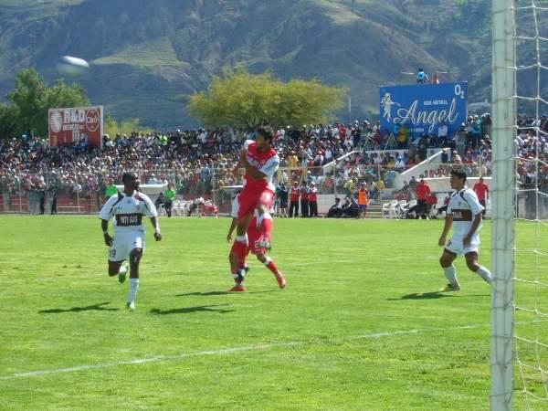 El Ciudad de Cumaná de Ayacucho ya fue testigo de un partido inaugural: en 2009, el recién ascendido Inti Gas recibió a Bolognesi e igualó 1-1 (Foto: Ciro Madueño)