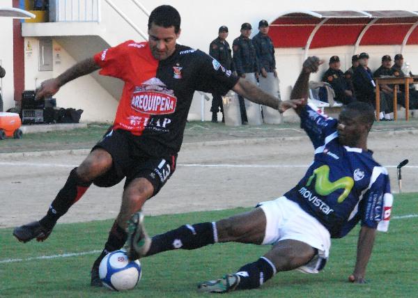Álvaro Méndez tuvo una segunda oportunidad en el fútbol peruano, pero no la aprovechó (Foto: Prensa FBC Melgar)