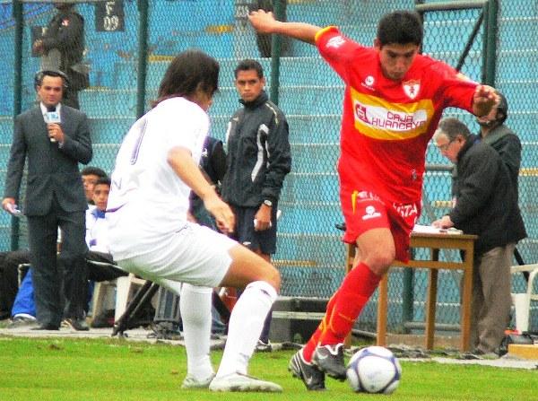 FECHA 34. En duelo directo por la Serie B, un duro tropezón en casa ante Huancayo, que ganó 1-2 sobre la hora (Foto: cortesía Víctor Granda)