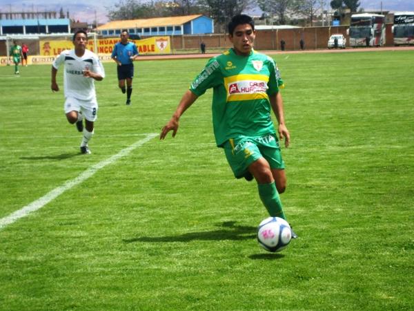 YA MADURÓ. Ávila es figura en Huancayo. El juvenil ha tenido un año para destacar con goles y grandes actuaciones (Foto: diario Primicia de Huancayo)