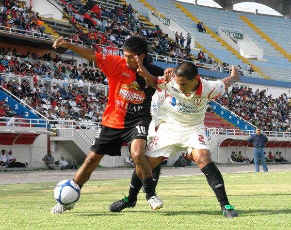 PARA TODA LA HINCHADA. Salas también se unió a la goleada y marcó el quinto (Foto: Prensa FBC Melgar)