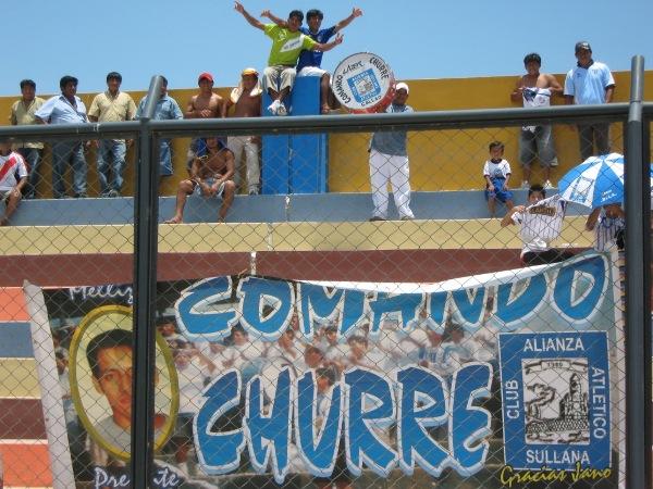CANDIDATA 4. La fiel hinchada churre en La Unión: fue, alentó y venció (Foto: Jesús Chinga / Deportes en Red)