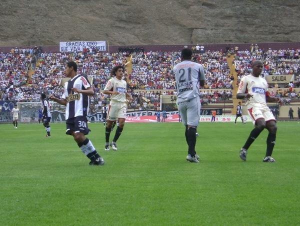 FECHA 01. Un gol agónico de Rodas originó que Alianza comenzara con una derrota en el Descentralizado. (Foto: Jesús Suárez)
