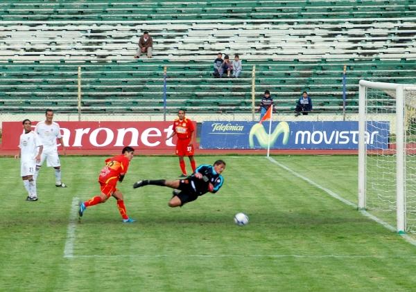 FECHA 03. Con gran actuación de Johan Sotil, Sport Huancayo  obtuvo su primera goleada en el campeonato tras superar por 4-0 a CNI. (Foto: diario Primicia de Huancayo)