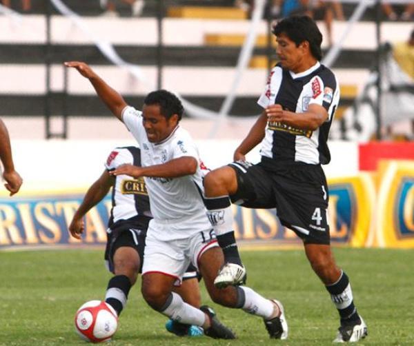 FECHA 03. En el Miguel Grau y contra Alianza Lima sufrió su primera derrota, marcó Ovelar, un hombre que llegó a jugar en Santa Anita, el único del partido. (Foto: RPP)