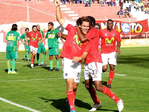 FECHA 04. Los imperiales lograrían su primer triunfo en el campeonato luego de imponerse por 2-1 ante Sport Huancayo. (Foto: Diario del Cuzco)