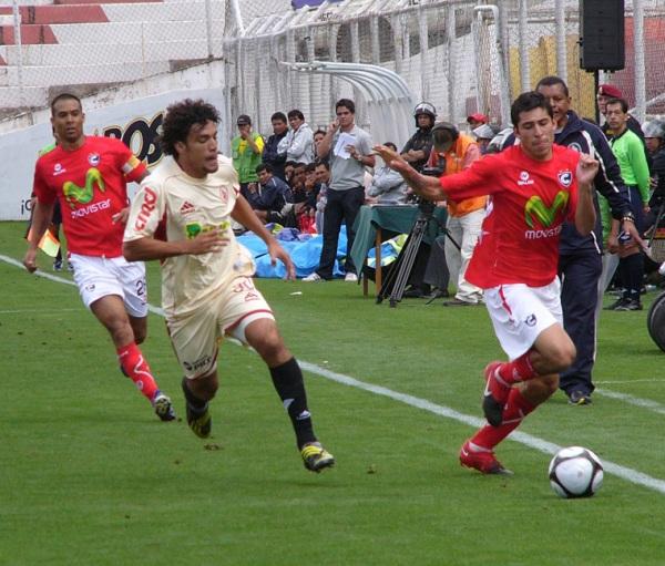 Entonces capitán del cuadro imperial, Martín Hidalgo sumó un gol en el arco de León la vez que Cienciano superó por 2-1 a los huanuqueños (Foto: Diario del Cusco)