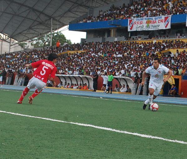 FECHA 12. Ospina le diría adiós a Cienciano tras perder 0-1 ante CNI en Iquitos. (Foto:Fernando Herrera)