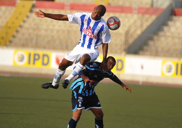 FECHA 38. Después de una larga travesía con Vallejo, Mario Viera disputó su último partido ante Alianza Atlético, el cual culminó 2-2. (Foto: Diario La Industria de Trujillo)