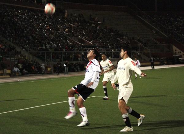 FECHA 42. Ruidiaz le permitiría a los cremas obtener un triunfo en Chimbote y de paso un cupo a la Copa Sudamericana. (Foto: Diario de Chimbote)