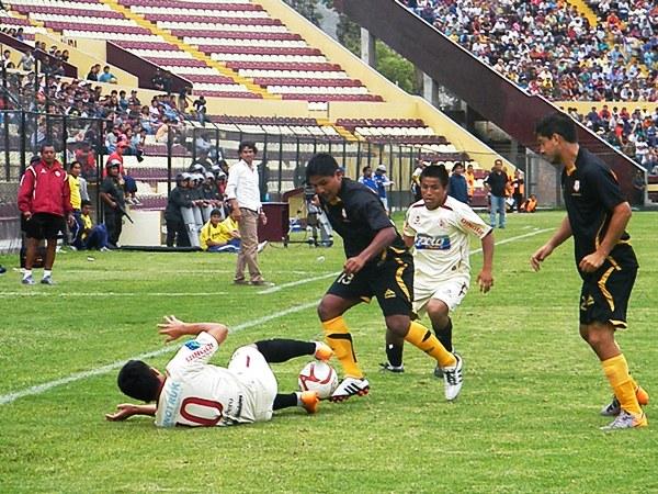 FECHA 2. León de Huánuco no supo responder ante su público y cayó ante el recien ascendido Cobresol por 1-0. (Foto: Jesús Suárez / DeChalaca.com)