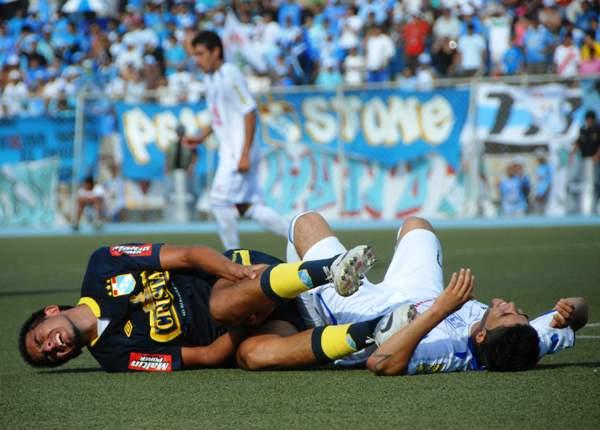 FECHA 04. Cristal cayó en Piura ante Alianza Atlético. El cuadro rimense perdió 2-1. (Foto: Diario el Tiempo de Piura)