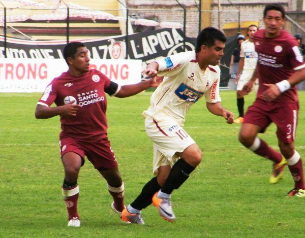 FECHA 4. León Huánuco pudo lograr su primer triunfo en condición local con un 2-0 sobre Universitario. (Foto: Jesús Suárez / DeChalaca.com)