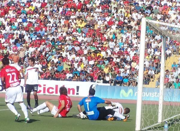 FECHA 07. Cual gitano, Melgar daría la sorpresa tras igualar 1-1 en Chiclayo ante el Aurich. (Foto: Diario La Industria de Chiclayo)