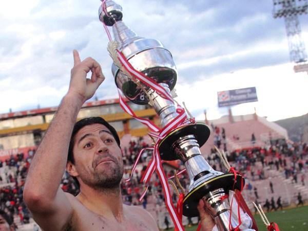 EL 'CHECHO'. No hay otro adjetivo para calificar a Sergio Ibarra, quien anotó ante Inti Gas y sigue demostrando toda su capacidad goleadora en el fútbol peruano. (Foto: Diario El Sol de Cusco)