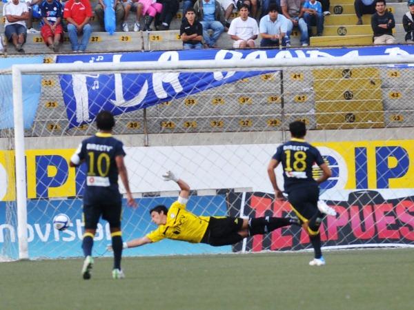 Ferreyra terminó siendo la figura del equipo pese a que se esperaba que lo fuesen los atacantes. (Fuente: diario La Industria de Trujillo)