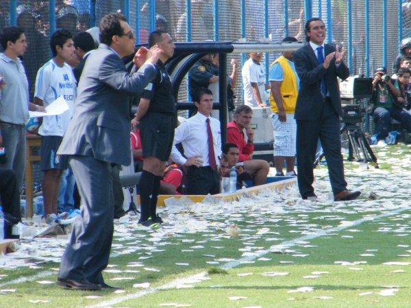 Juan Reynoso llegó para aportar al Rímac, pero el plantel austero hizo imposible que se adapte a su modo de trabajo (Foto: Wagner Quiroz / DeChalaca.com)