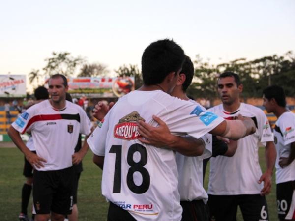 FECHA 12. El cuadro dirigido por Claudio Techera lograría una bocanada de aire tras imponerse por 1-2 ante Unión Comercio en Moyobamba. (Foto: José Flores / Canal E - Moyobamba)