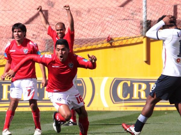 FECHA 14. Partidazo en Cusco. Cienciano derrotó con un ajustado 3-2 a San Martín. (Foto: diario El Sol del Cusco)