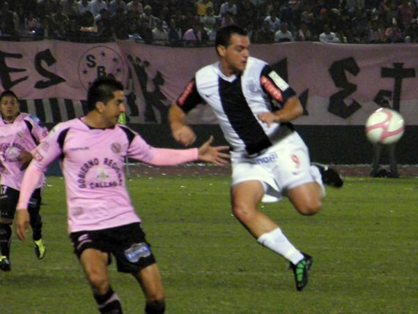 Alianza consiguió su mayor goleada sobre Boys en el Callao en 2011 en una noche recordada porque fue la única en la que Hernán Peirone destacó con la blanquiazul (Foto: archivo DeChalaca.com)